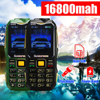 13800mah GSM 900/1800 Dual Sim Card Mobile Cell Phone Cellphone 2.6'' Old people