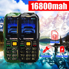 13800mah Gsm 900/1800 Dual Sim Card Mobile Cell Phone Cellphone 2.6' Old people