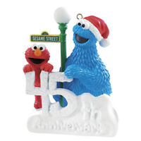 Carlton Ornament 2014 Elmo and the Cookie Monster - Sesame Street - #CXOR042F