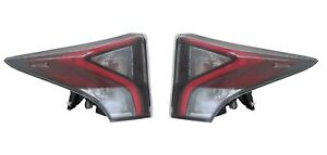 For 2016 Toyota Prius Taillight Tail Lamps Driver & Passenger Side LH+RH Upper