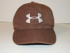 Under Armour Boys Youth One Size Fits All Original 56 CM Brown Fitted Hat