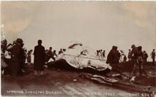 WHALING INDUSTRY DURBAN AFRIQUE DU SUD SOUTH AFRICA 1 REAL PHOTO CPA