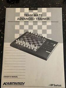 Kasparov Team-Mate Advanced Trainer Electronic Chess Set