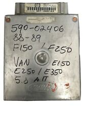 88-89 Ford F150 F250 E150 E250 5.8L AT E8TF-12A650-ALB Engine Computer ECU ECM