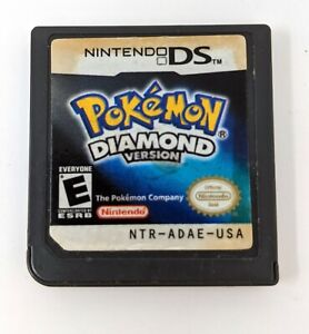 Pokemon Diamond Version Authentic DS Lite 3DS DSi Tested Working *Read*
