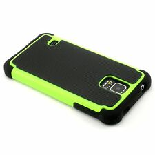 New Green Heavy Duty Protection Case For Samsung Galaxy S5 i9600 SV