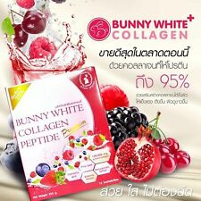 15 sachet Bunny White Collagen 150,000mg. Extracted From Salmon Roe with Natural