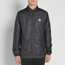 adidas Originals Men's Slim Fit WOVEN WINDBREAKER COACH'S JACKET  MEDIUM  1AVAIL