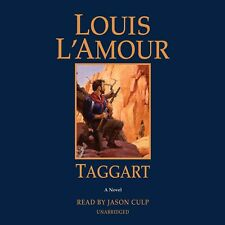 Louis L'Amour TAGGART Unabridged CD *NEW* FAST 1st Class Ship!