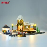 LED Light Up Kit For LEGO Winter Village Station 10259 Lighting Set building kit