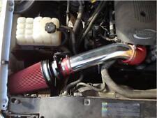 BCP RED 99-06 Silverado V8 4.8L/5.3L/6.0L Heat Shield Cold Air Intake + Filter