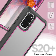 For Samsung Galaxy S20 Plus Ultra 5G Transparent Hybrid TPU Protector Case Cover