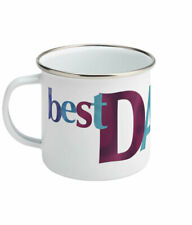Best Dad Ever Enamel Mug