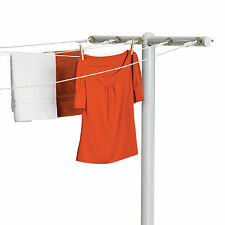 Outdoor Clothes Line Poles Drying Rack Laundry Steel Backyard Rust Resistant S