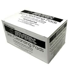 STUDEX SKIN CLEANSING PADS EAR PIERCING ALCOHOL PREP WIPES BOX OF 100 - E221