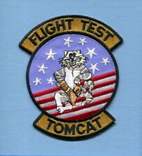 GRUMMAN F-14 TOMCAT FLIGHT TEST US NAVY Fighter Squadron Jacket Patch