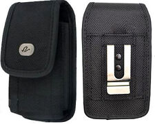 Vertical Rugged Canvas Case Holster For LG Revere 2