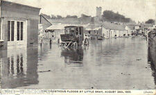 Dublin. The Disastrous Floods At Little Bray, Aug 24th, 1905. Ireland
