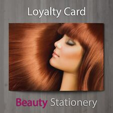 Loyalty Card Beauty Salon Hairdressing Spa Make Up Therapist A8 Mini Size
