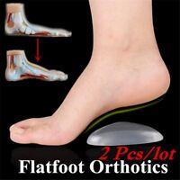 1Pair Arch Support Orthopedic Orthotic Cushion Flatfoot Correction Shoe Insoles