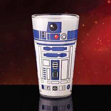 Ufficiale Star Wars R2-D2 Droide Design Pinta in vetro-R2D2 bevande vetro BOXED