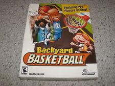 Backyard Basketball (PC MAC 2001) New & Sealed in Big Box Kevin Garnett Edition
