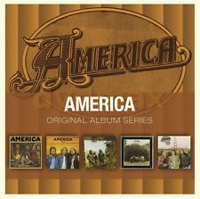 America ORIGINAL ALBUM SERIES Box Set HOMECOMING Hearts HOLIDAY New Sealed 5 CD