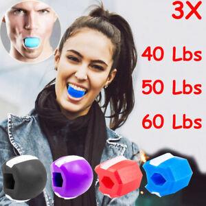 3 Pack Jawline Exerciser Jawlineme Exercise Fitness Ball Neck Face Jawzrsize Jaw