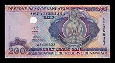 B-D-M Vanuatu 200 Vatu 1995 Pick 8a Serial AA SC UNC