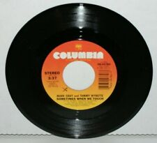 Mark Gray & Tammy Wynette : Sometimes When We Touch / The Lucky Last One 45 1984
