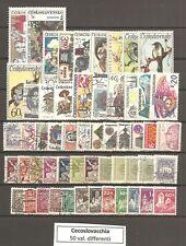 Cecoslovacchia 50 francobolli differenti