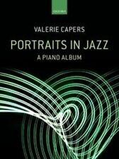 Portraits en jazz, Livre de Poche; câpres, valerie.; Piano Solo, Jazz Albums