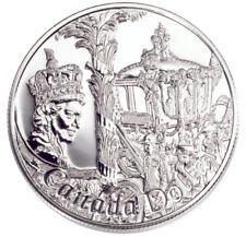2002 Canada $1 Queen Golden Jubilee BU Silver Dollar