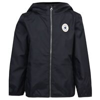 Designer CONVERSE 'All Star' Windsheeter Jacket Navy Blue NEW SEASON'S SALE