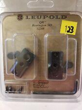 New Leupold 2 Piece Qr - Quick Release Remington 541 - Matte Black (52240)