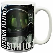 OFFICIAL STAR WARS LARGE DARTH VADER SITH LORD MUG COFFEE CUP NEW