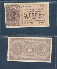 VITTORIO EMANUELE III 2 LIRE  DEC.14/03/1920 F.D.S. R@RO  A.