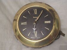 vintage United clock Roman Numeral electric working wall time