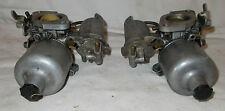 2 X Vintage su Carburador MG MGB HS4 Original