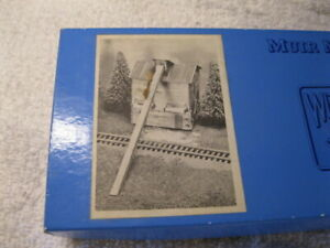 HO scale Muir Models #040 Sawdust Storage Bin Kit  (Lot 28)