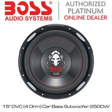 "Boss Audio Phantom - 15"" DVC Series (4 OHM) AUTO SUBWOOFER BASS 2500W"