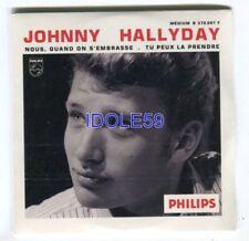CD de musique emballés pour chanson française, Johnny Hallyday