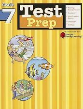 Test Prep: Grade 7 (Flash Kids Harcourt Family Learning) by SparkNotes Staff.