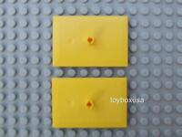 2 New Lego City Train Car Wheel Base Bogie Plate Set / 9 Volt RC IR PF ( 4025 )