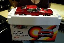 1970 FORD MUSTANG BOSS 429 NICECAR 120 MADE STREET FIGHTER CANDY RED 1:18 ACME
