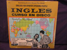 SEALED INGLES Englis For Spanish Speaking People LP