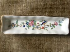 More details for aynsley pembroke trinket dish reproduction 18th century design exotic frlowers