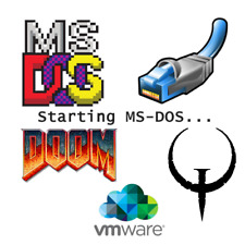 MS DOS 6.22 Virtual Machine OVF Image for VMware Included - DOS  DOOM QUAKE WORD