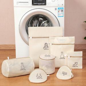 Zipper Laundry Washing Mesh Net Bra Underwear Washing Machine Wash Bag Pouch