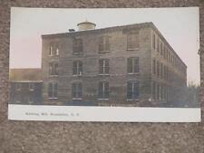 RPPC, Knitting Mill, Broadalbin, N.Y., unused vintage card